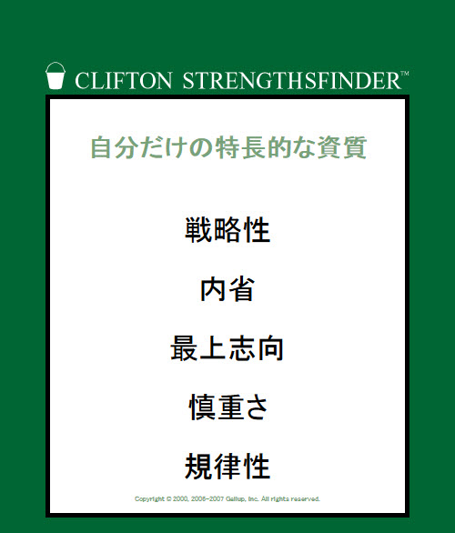 strengthsfinder2012