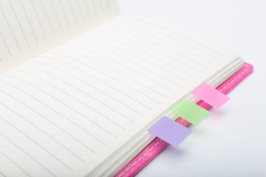手帳に記録する